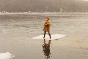 Devan on ice 1988