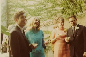 Backyard wedding in Georgetown 1967